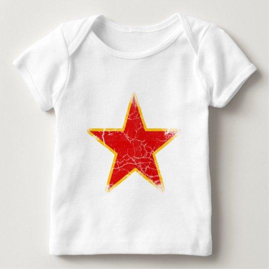 Communist Red Star Vintage Baby T-Shirt