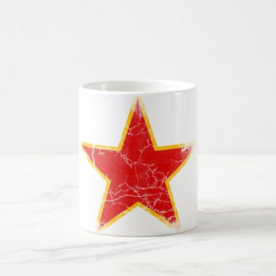 Communist Red Star Vintage Coffee Mug