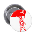 Communist Robot Pins