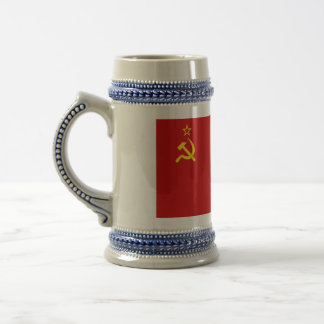 Communist Russia Flag USSR Beer Stein