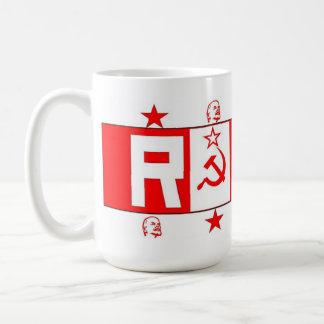 "Communist, Socialist, Lenin, Russian ""Red"" Mug"