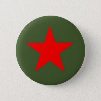 Communist Star Pinback Button
