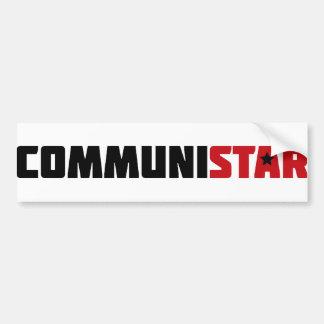communistar pegatina para auto
