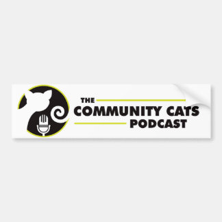 Community Cats Bumper Sticker