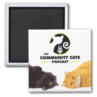Community Cats Podcast Magnet