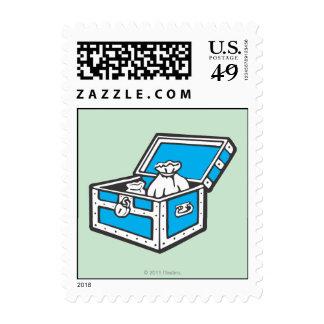 Community Chest Postage Stamp