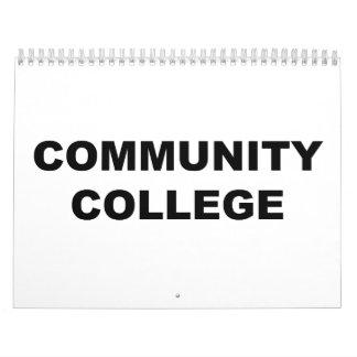 Community College Calendar