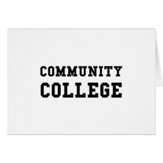 Community College Card