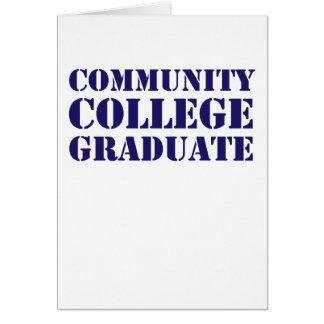 Community College Graduate Card
