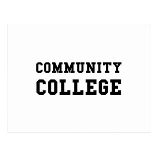 Community College Postcard
