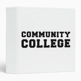 Community College Pride Binder