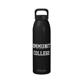 Community College Water Container Reusable Water Bottles