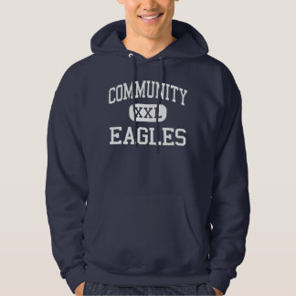 Community - Eagles - High - Teaneck New Jersey Hooded Sweatshirt