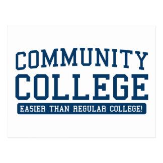 community easier than regular postcard