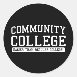 community easier than regular sticker