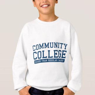 community easier than regular sweatshirt