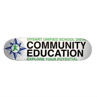 Community Ed Compass Skateboard