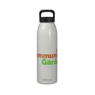 Community Garden Reusable Water Bottle