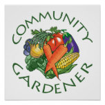 Community Gardening Posters