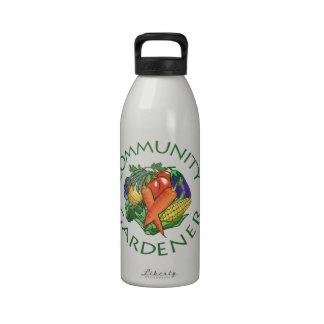 Community Gardening Reusable Water Bottles