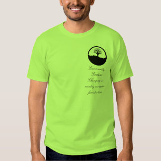 Community Gardens, changing our country Tee Shirt