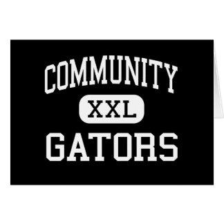 Community - Gators - High - Palm Beach Gardens Greeting Card
