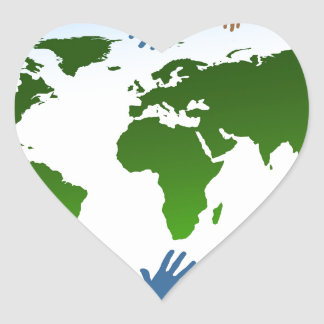 Community Heart Sticker