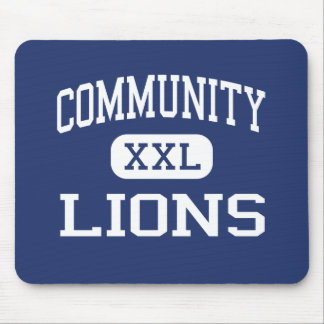 Community - Lions - High - Moorpark California Mouse Pad