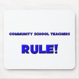 Community School Teachers Rule! Mouse Pads