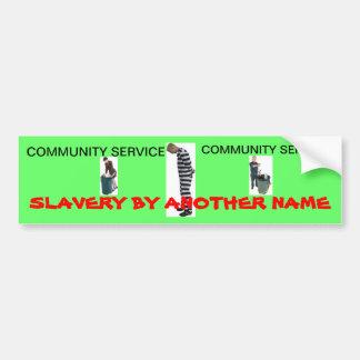 Community Service Bumper Stickers