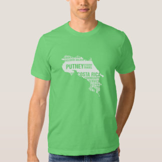Community Service Costa Rica in Multiple Colors Tees