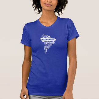 Community Service Ecuador in Multiple Colors Shirt