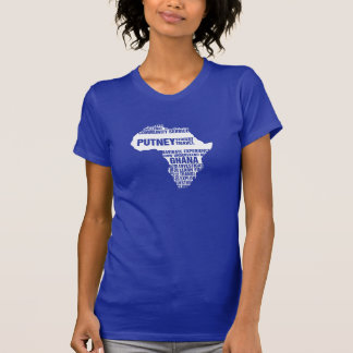 Community Service Ghana in Multiple Colors Tee Shirt