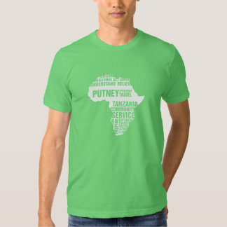 Community Service Tanzania in Multiple Colors T Shirt