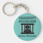Community Standards - Repeat Offender Keychain