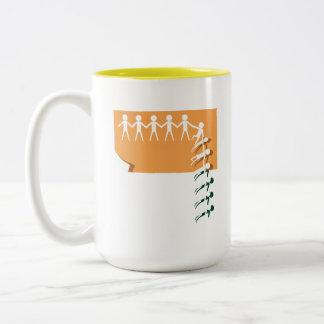 Community Two-Tone Coffee Mug