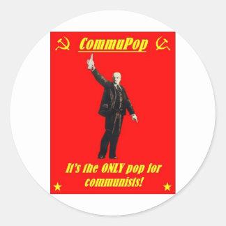 CommuPop Round Stickers