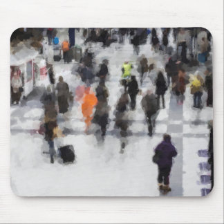 Commuter Art Abstract Mouse Pad