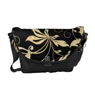 Commuter Bag - Golden Elegance