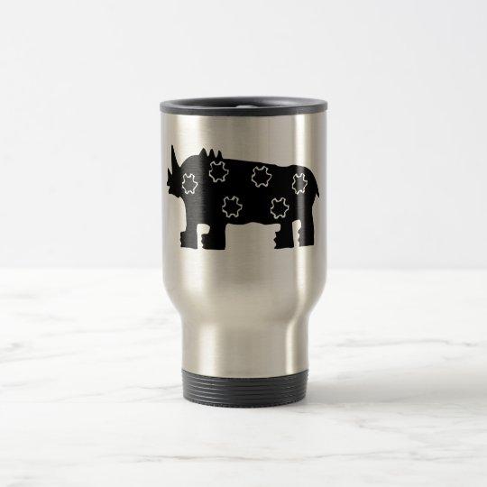 Commuter Mug, African Rhino Travel Mug