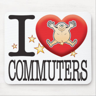 Commuters Love Man Mouse Pad