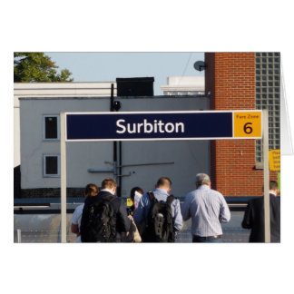 Commuting from Surbiton Card