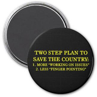 Cómo ahorrar el país imán redondo 7 cm