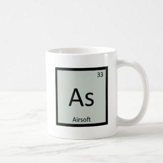 Como - Airsoft se divierte la tabla periódica de Taza Clásica