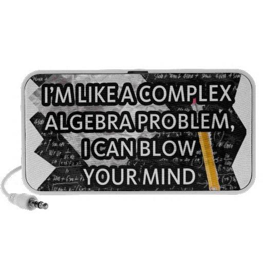 Como álgebra, puedo soplar su mente altavoces de viaje
