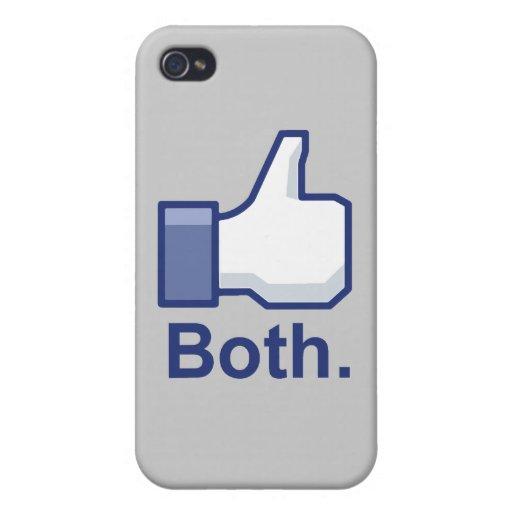 Como ambos iPhone 4 cárcasas