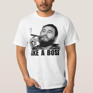 Como Boss - Fidel Castro Playeras