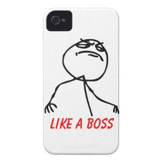 Como Boss iPhone 4 Funda