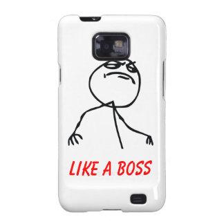 Como Boss Samsung Galaxy S2 Carcasa