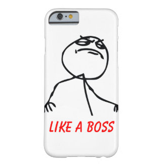 Como Boss Funda Barely There iPhone 6
